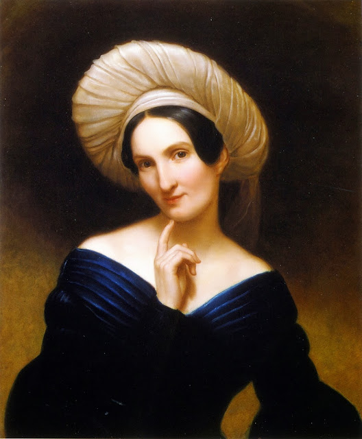 Rembrandt Peale - Portrait of a Lady (Harriet Cany Peale)