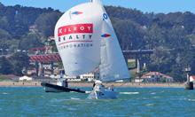 J/22 sailboat- sailing St Francis YC Challenge Cup