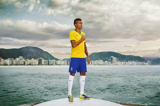 áo bóng đá brazil sân nhà 2015