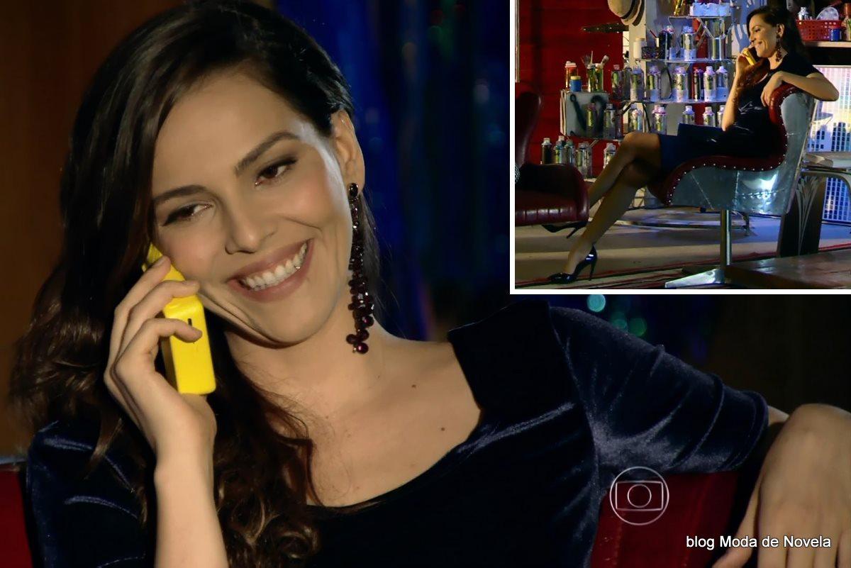 moda da novela Em Família - look da Marina dia 4 de junho