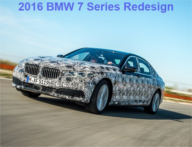 2016 BMW 7 Series Redesign: New BMW Flagship Sedan Concept