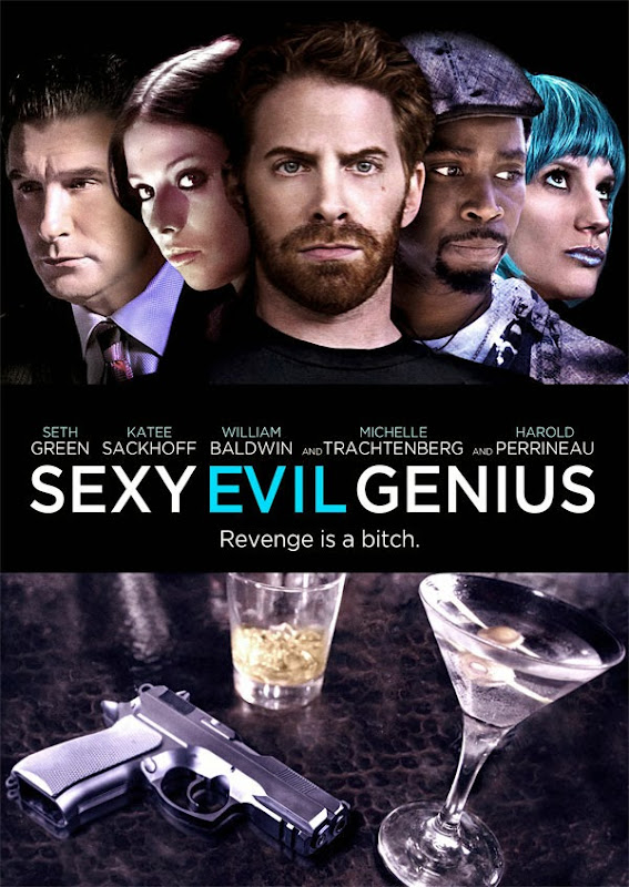 Poster Of English Movie Sexy Evil Genius (2013) Free Download Full New Hollywood Movie Watch Online At Alldownloads4u.Com