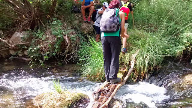 senderismo río Senia