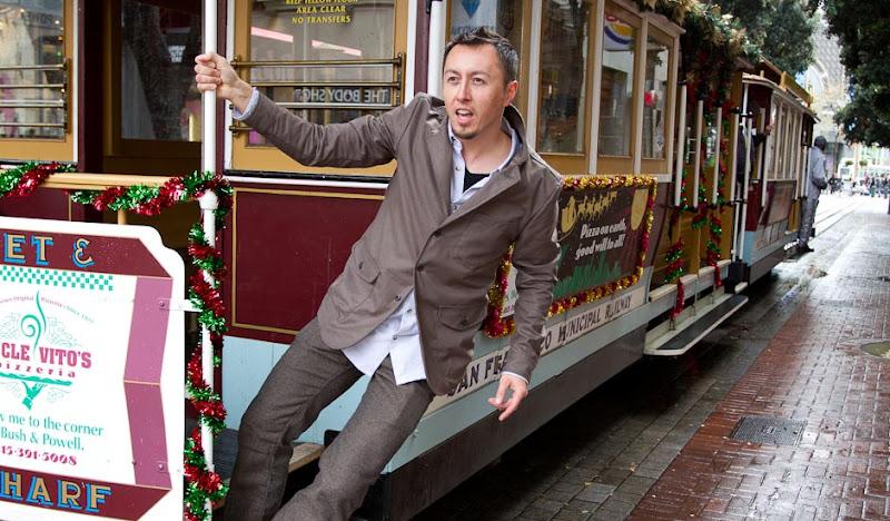 Green Trail Blazer: Jason on Cable Car