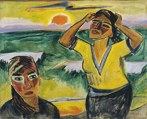 Max Pechstein - Sunset