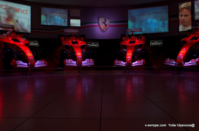 Зал славы Феррари на Формуле-1