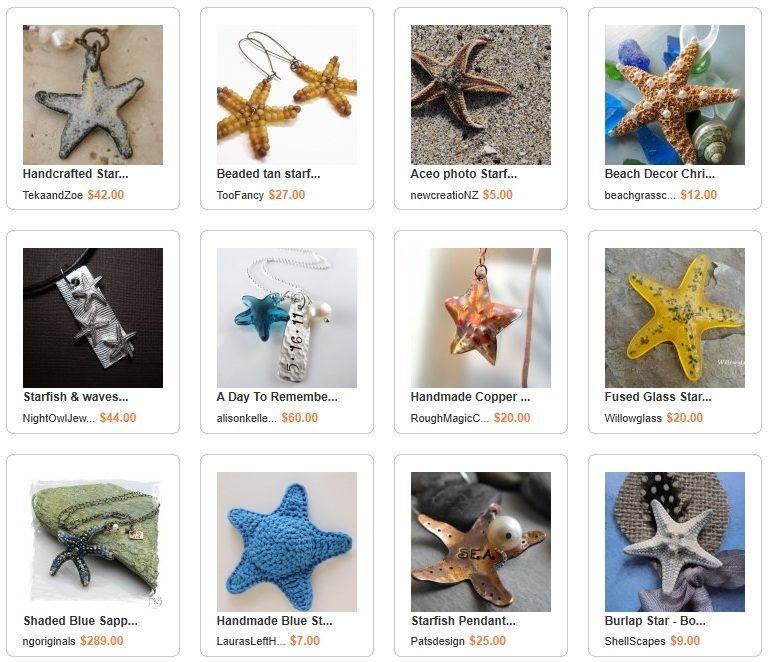 Handmade Starfish Collection