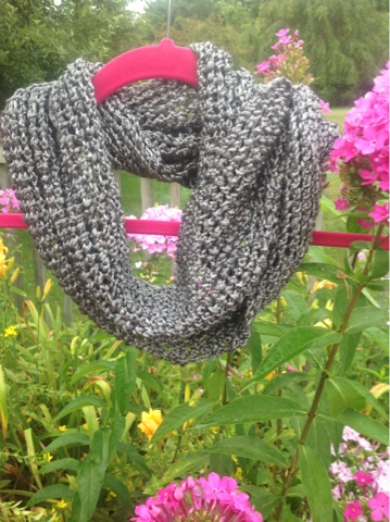 Liquid Silver Scarf- Free Knitting Pattern