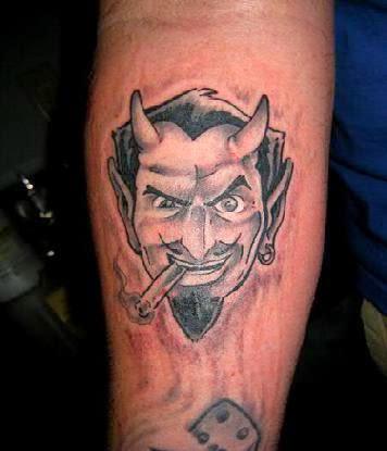 devil tattoo tattoo designs. Black Bedroom Furniture Sets. Home Design Ideas