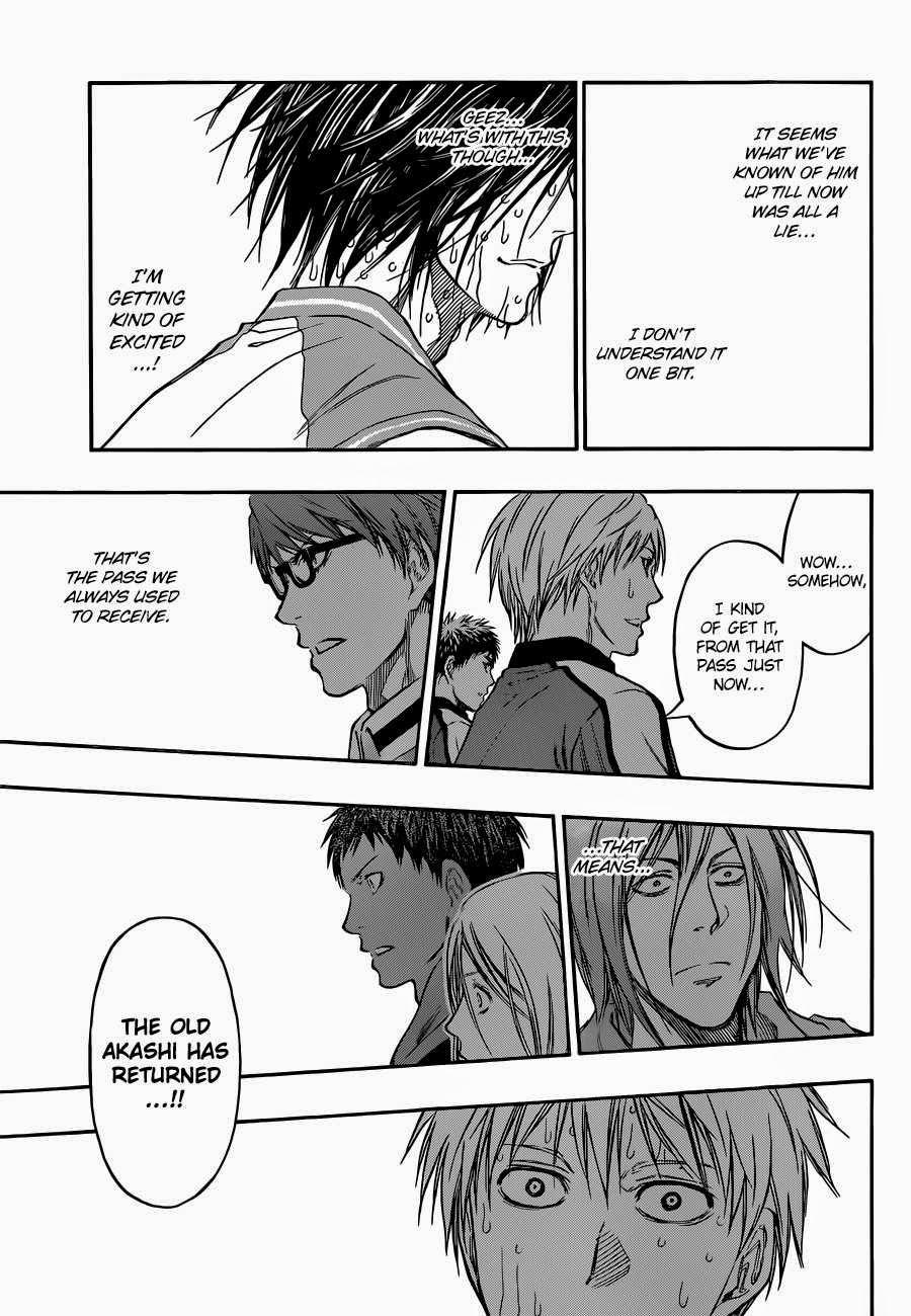 Kuroko no Basket Manga Chapter 267 - Image 11