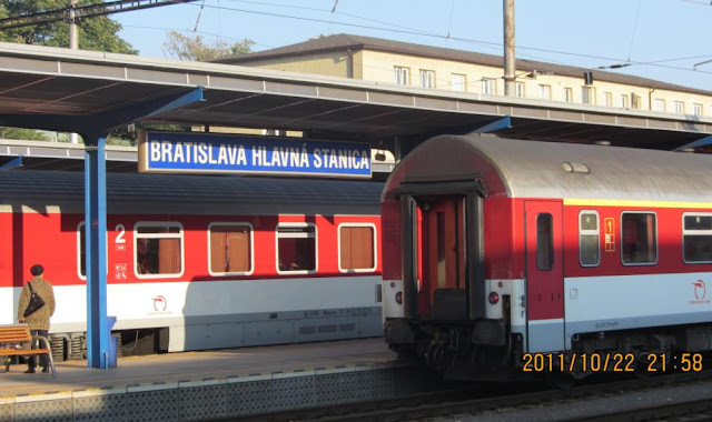 Bratislava中央火車站