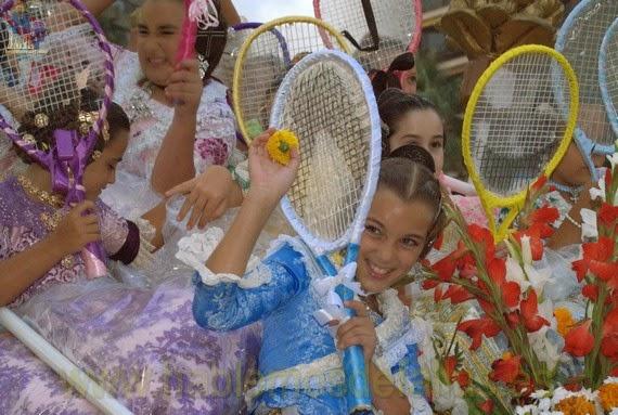 La Batalla de Flores más participativa