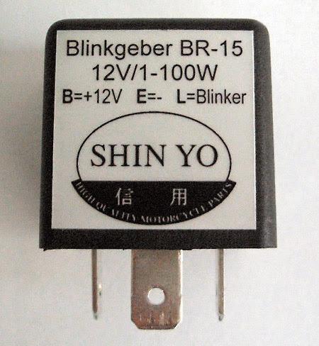 Blinkrelais LED