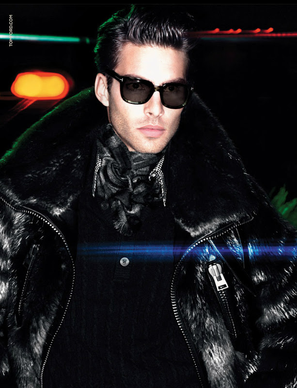 Jon Kortajarena by Mert & Marcus for Tom Ford F/W 11-12
