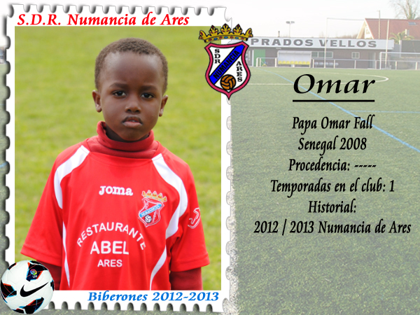 ADR Numancia de Ares. Papa Omar