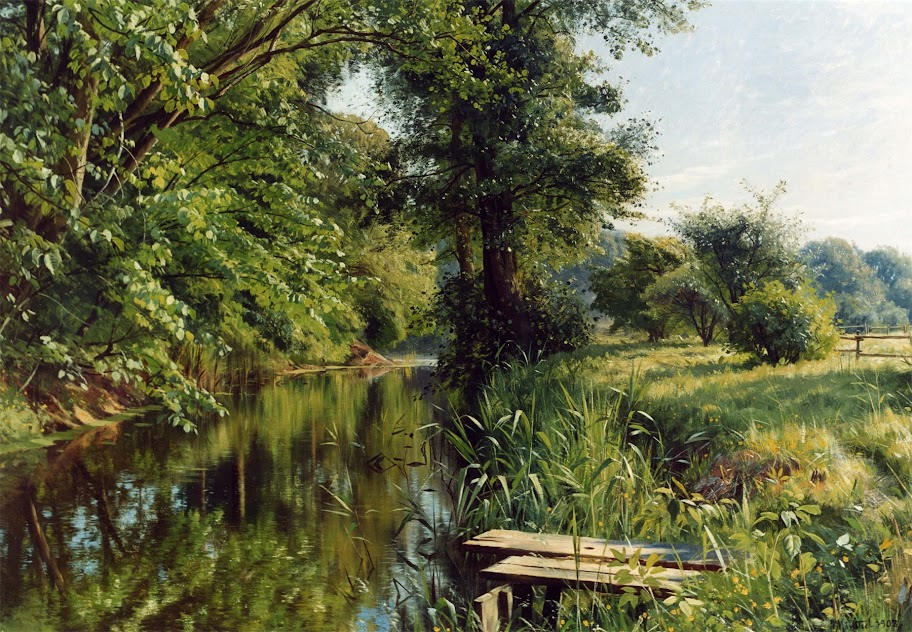 Peder Mork Monsted - Reflections of Spring