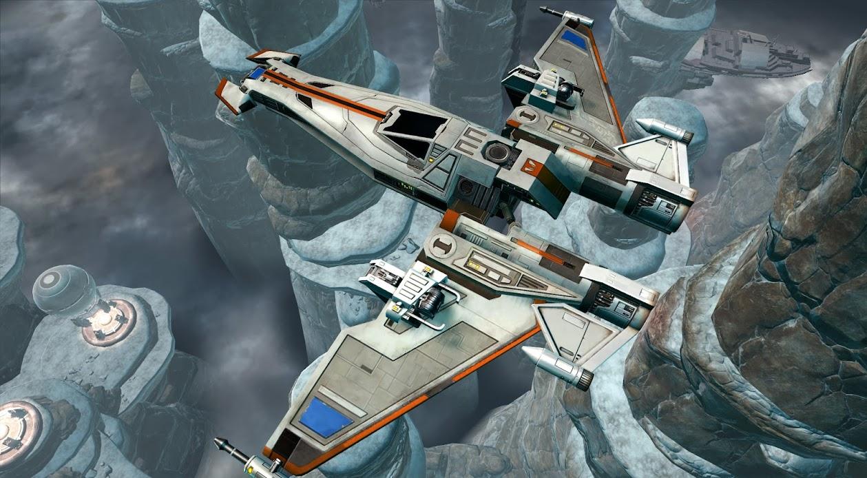 Galactic Starfighter Screen