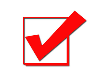 Event Checklist Check Box