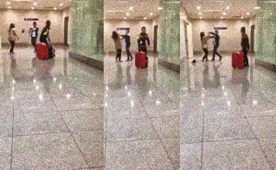 Immigration officer Slaps Chinese Woman at NAIA – Video