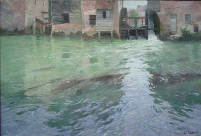Frits Thaulow - The Water Mill, 1892