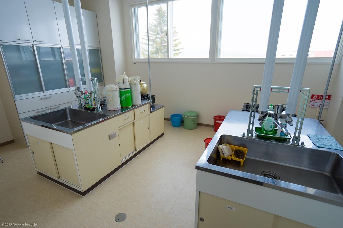 現在の美葉牛農業研修センター・調理室