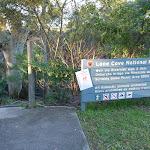 Lane Cove National park sign