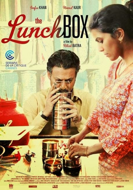 Poster Of Hindi Movie The Lunchbox (2013) Free Download Full New Hindi Movie Watch Online At alldownloads4u.com