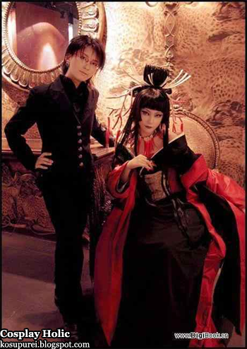 xxxholic cosplay - watanuki kimihiro and ichihara yuuko