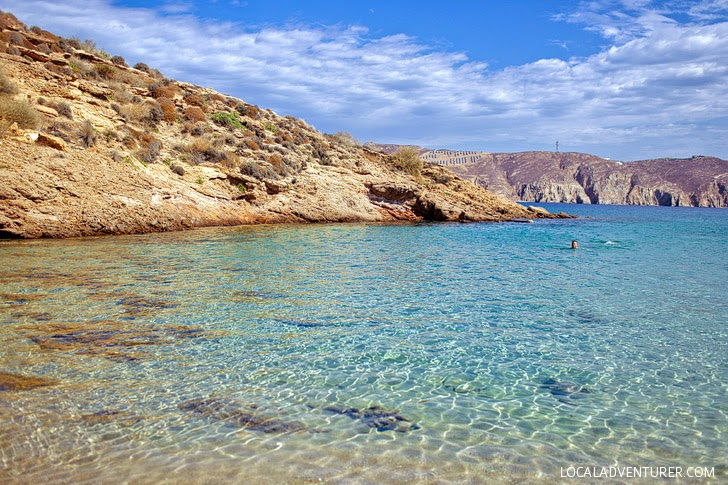 Agios Sostis Beach Mykonos (15 Most Beautiful Beaches in Greece).