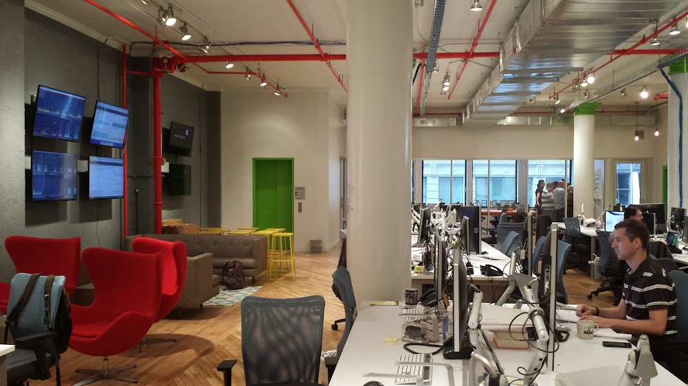 FieldLens New York office