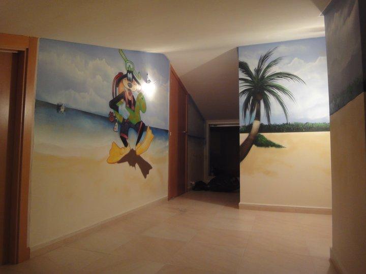 Berok graffiti mural profesional en barcelona - Graffitis para habitaciones ...