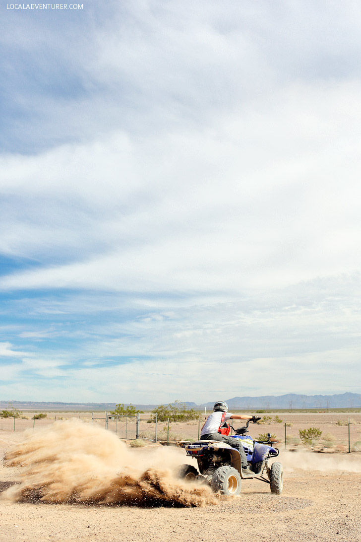5 Las Vegas Outdoor Activities // ATV Tours with Detour Vegas.