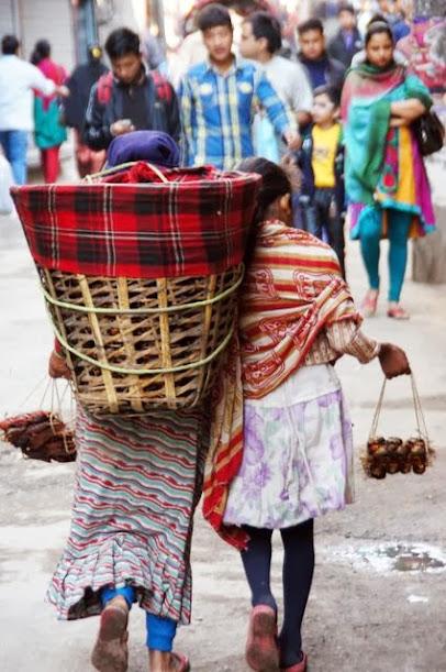 達人帶路-環遊世界-尼泊爾-傳統小販