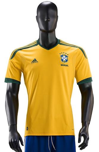 FB  E se a camisa do Brasil fosse ADIDAS   97671fd860ec4