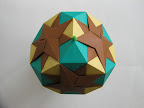 "Octagonal Star from Tomoko Fuse's ""Multidimensional Transformations: Unit Origami""."