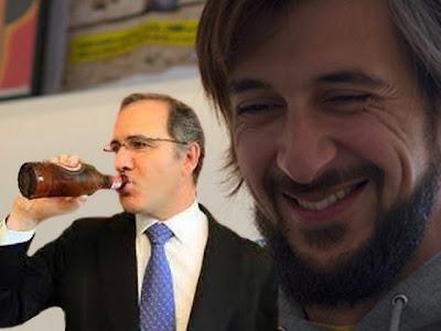 Bruno Nogueira goza com o Ministro Pires de Lima