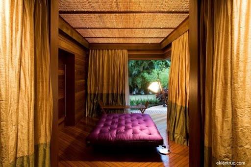 Leaf House 13 750x500 Kiến trúc nhà lá thú vị tại Brazil