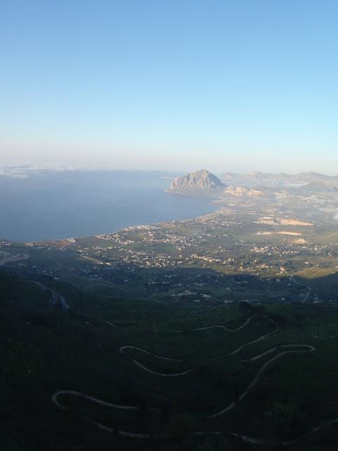 Pohled na vychod - smer Palermo