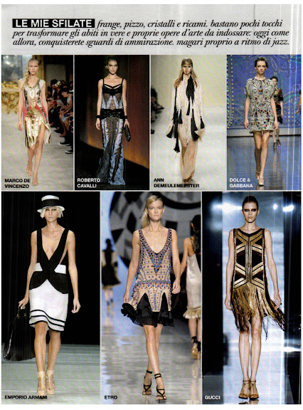 Moda Primavera Verano 2012 - Art Deco