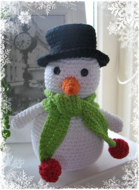Sneeuwman Simply Made By Alma