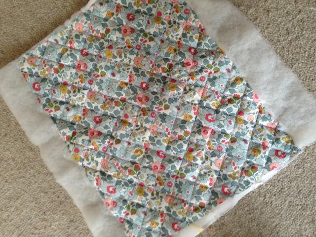 couverture bébé matelassée Pomme coing: Carde santé: le tuto! couverture bébé matelassée