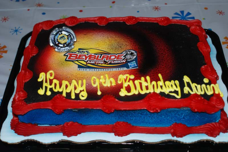 Time2scrap Beyblade Birthday Party