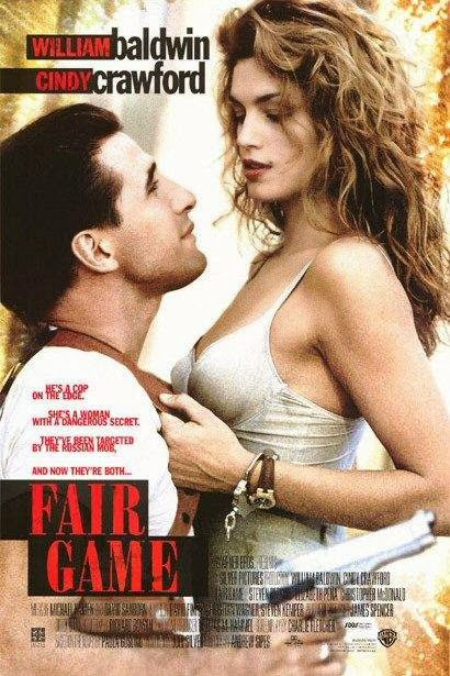 Poster Of Fair Game (1995) Full Movie Hindi Dubbed Free Download Watch Online At Alldownloads4u.Com