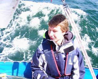 Jesper Nielsen ombord på Albin Vega, Naja II