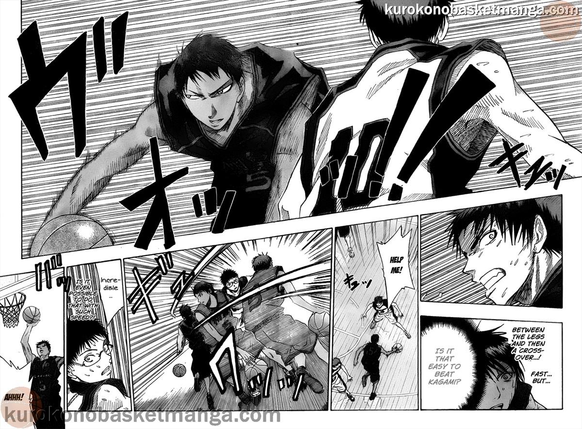 Kuroko no Basket Manga Chapter 46 - Image 10-11