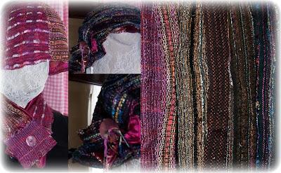 ...des chapeaux et des cols en tweed de Haute-Couture...