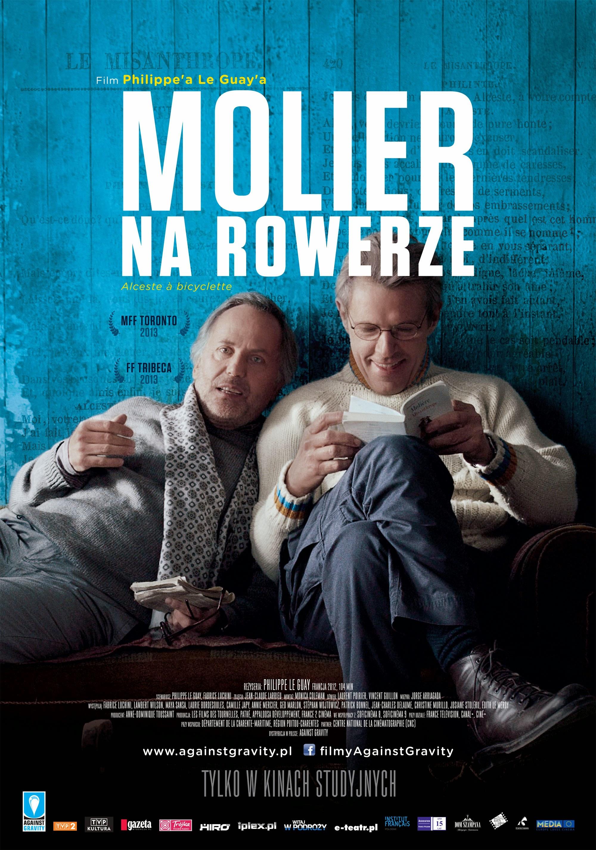 Polski plakat filmu 'Molier Na Rowerze'