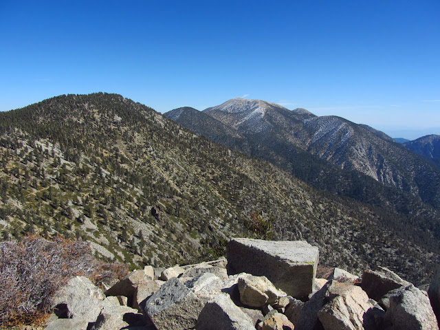 San Gorgonio in the distance