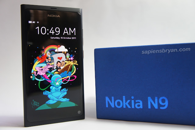 Front View Of Nokia N9