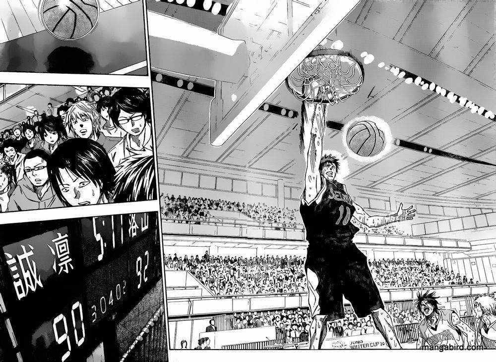 Kuroko no Basket Manga Chapter 265 - Image 16-17